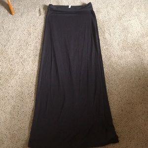 Brown Maxi Skirt